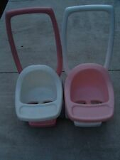 LITTLE TIKES DOLL STROLLER PINK & WHITE CHILD SIZE ((YOU ARE BUYING CHOICE))