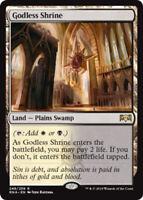 2x Godless Shrine Near Mint Magic standard shockland cube Ravnica Allegiance RNA