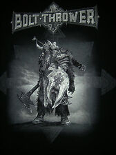 BOLT THROWER - Overtures Of War 2014 Tour Shirt L Cannibal Corpse Immolation