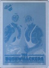 WWE Bushwhackers Luke & Butch 1990 Classic Printing Plate Card WWF