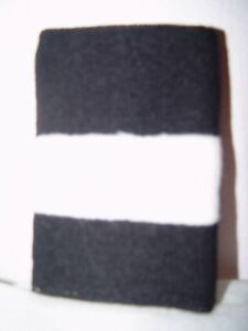12 Black & White Arm Bands Armbands NEW 5 inches wide Sweatbands