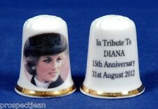 In Tribute To Princess Diana 15th Anniversary 31.08.2012 China Thimble B/91