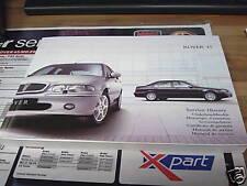 Rover 45 MK1 Handbook/Servicebook