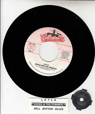 """DEREK AND THE DOMINOS  Layla & Bell Bottom Blues  ERIC CLAPTON 7"""" 45 record NEW"""