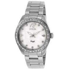 Invicta Angel 27449 Women's Oyster Dial Stainless Steel Crystals Watch