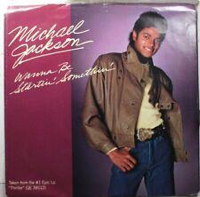 Soul Picture Sleeve 45 Michael Jackson - Wanna Be Startin' Somethin' / Wanna Be