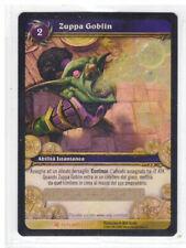 World of Warcraft TCG Zuppa Goblin Loot Card Foil 1/3 Outland ITA