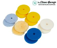 "Rupes Polishing Pad Kit   12 Pads for 3"" Backing Plate   DA Foam Wool Buffing"