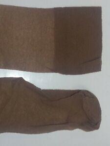 Ultra Sheer Agilon Nylon Size 11-11.5 Vintage size 4 Large Mist Tone Brown XL
