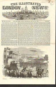 #01-0162 1/25/1851 ANTIQUE PRINT (USA) - ADMISSION OF CALIFORNIA AMERICAN UNION