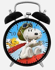 SNOOPY Alarm character clock analog R506 electronic sound alarm tea