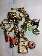 Juicy Couture Charm Bracelet With 7 Charms