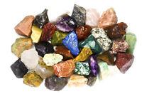 2 lbs Wholesale Indian Rough Stones - Tumbling Tumbler Rocks, Reiki, Wicca