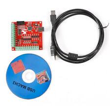 Us Usb Cnc Controller Card 4axis Mach3 100khz Interface Driver Motion Controller
