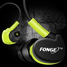 Waterproof Earphones In Ear Earbuds HIFI Sport Headphones Bass Headset + Mic z3