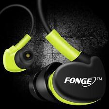 Waterproof Earphones In Ear Earbuds HIFI Sport Headphones Bass Headset + Mic