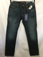 NWT Men's VIGOSS Jeans Mick 330 Slim Authentic Stretch  Size 31 x 30 Distressed