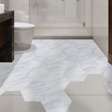 10PC Bathroom Floor Tile Sticker Adhesive Marble Decal Peel&Stick Non-Slip Decor