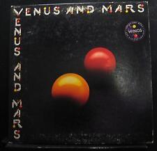 Wings - Venus And Mars LP VG+ SMAS-11419 Captiol 1975 USA Vinyl Record