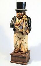 THE LITTLE NAVIGATOR VINTAGE SYROCO WOOD MARITIME FOLK ART STATUE NEW BEDFORD