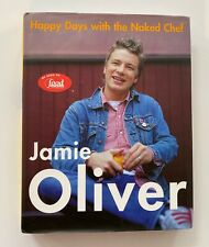 Jamie Oliver Signed Happy Days with the Naked Chef  - 1st Edition/1st Printing