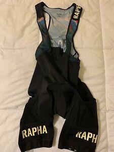 Rapha Strata Pro Team Cargo Bib Shorts XL Cycling Colin Strickland