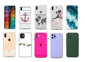 iPhone 5 6 7 8 SE X Schutz Hülle Handy Cover Case Tasche Motiv Bumper