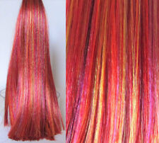 CHINESE DRAGON Saran Doll Hair for Doll Rerooting/Wig Making Monster High OOAK