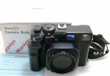 Mamiya 7II camera body black, boxed EXC++