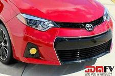 14-16 Corolla Yellow Fog light Overlays TINT Wrap TRD Precut JDM