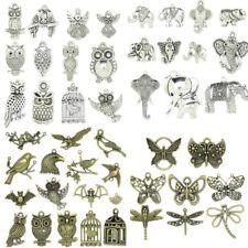123 Styles Tibetan Silver Animals Theme Charms Pendant Carfts Jewelry DIY