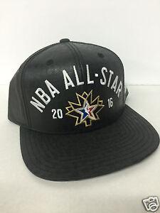 "2016 NBA All Star Game Adidas Snapback Cap - ""Reflective"" NEW"