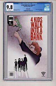 Black Mask Studios' 4 Kids Walk into a Bank #1 Fried Pie Variant CGC 9.8