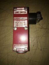 NAMCO CONTROLS EA150 10013 LIMIT SWITCHES.