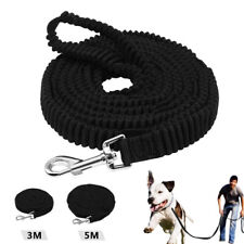 3/5m K9 Dogs Long Tracking Leash Elastic Bungee Training Leads Medium Large Dogs