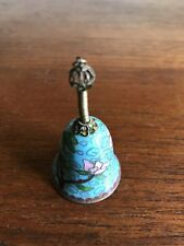 Vintage Chinese Cloisonne Miniature Bell