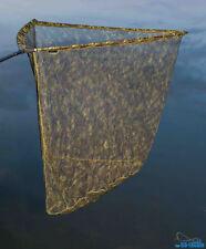 Karpfenkescher 90 x 90cm + Keschertasche Metall Kopf Camo Camouflage Carp Net