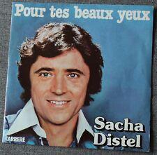 Sacha Distel, pour tes beaux yeux / moi et ma guitare , SP - 45 tours
