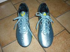 Chaussures basket football Messi bleu irisé & jaune crampons moulés T. 42 ADIDAS