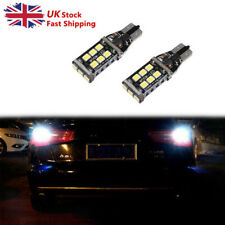 2Ps White 9SMDs LED Superlux Side light Beam W5W Bulbs For Vauxhall Zafira MK1//A