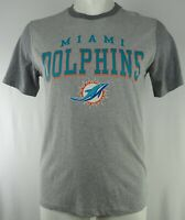 Miami Dolphins NFL Hands High Men's Embroidered Gray Short Sleeve T-Shirt