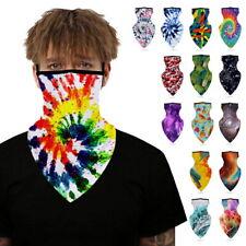 Breathable Balaclava Neck Gaiter Tube Bandana Cover Face Mask Washable Summer