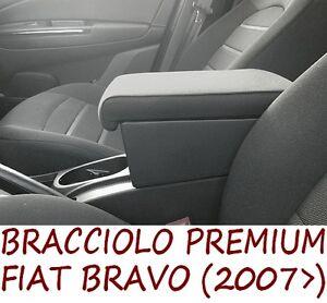 Bracciolo Premium per FIAT BRAVO NEW (2007>) - MADE IN ITALY - appoggiagomito -@