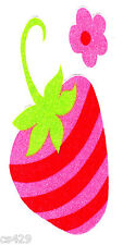 """5"""" Strawberry shortcake strawberry vintage fabric applique iron on character"""