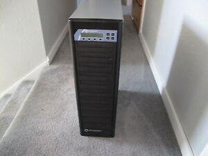 MICROBOARDS PRO-1016 10 bay DVD Duplicator, Hard Drive, Copy Lock protection
