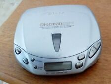 Vintage Sony Discman CD player D-E441 ESP2 Groove Working when last used