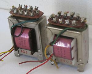 2 Siemens Klangfilm output Transformer SE Tube Amp EL84 ECL82  18/10