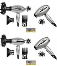LOT 4 Hot Tools DIAMOND PLATINUM IONIC Nano-Silver Professional SALON HAIR DRYER