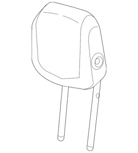 Genuine GM Headrest 84575000