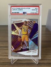 2018-19 Panini Revolution LeBron James #40 PSA 10 Lakers Card GEM Mint QTY
